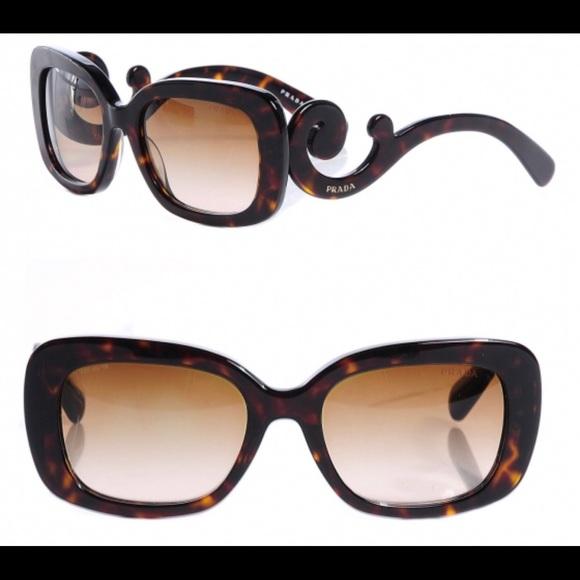 b8c6f8169c9df discount code for prada sunglasses catwalk tortoise authentic ladies ...